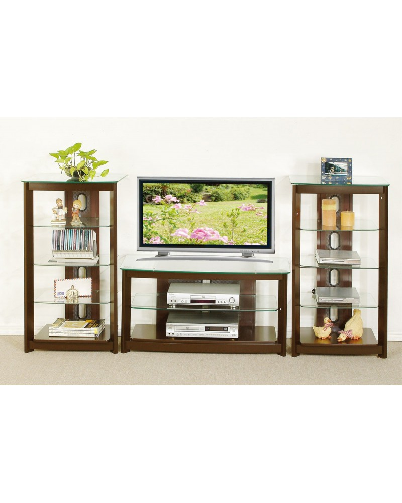 TV Media Center Medium Oak Veneer