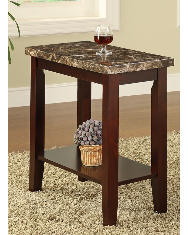 Chairside Table, Marble Top