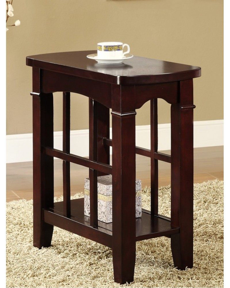 Mission Style Chairside Table, Espresso