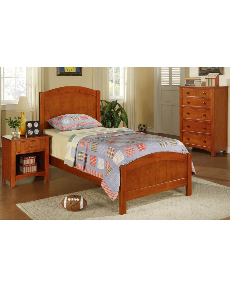 Twin Bed Set, Cherry