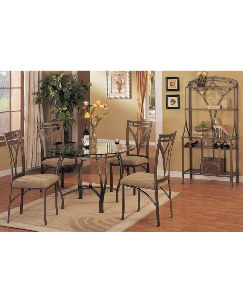 Floral Inspired Dining Table Set