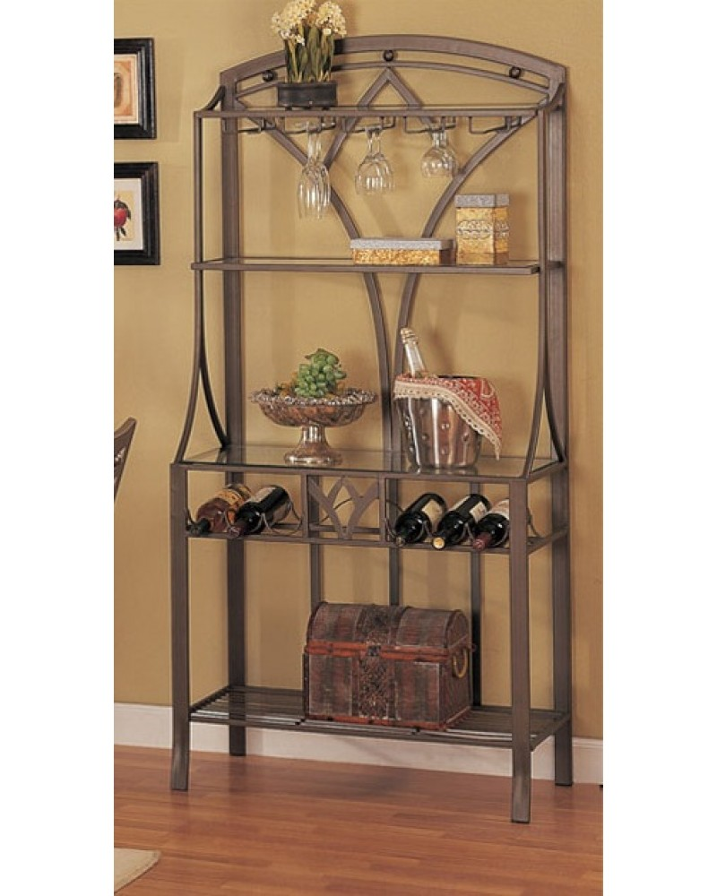 Floral Inspired Wine Rack