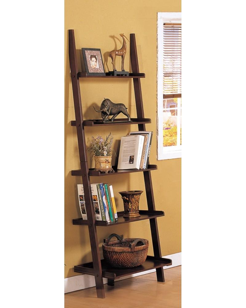 Magazine Table and Matching Wall Shelf, Walnut Wall Shelf