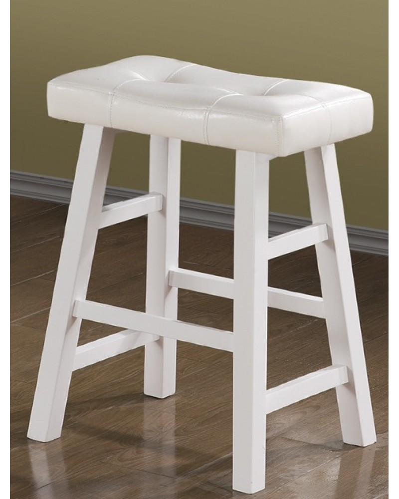 White Counter Stool 29