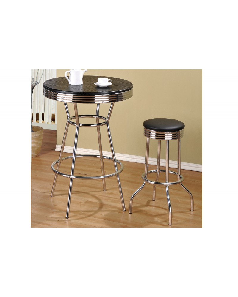 Counter Height Round Bar Table, 30