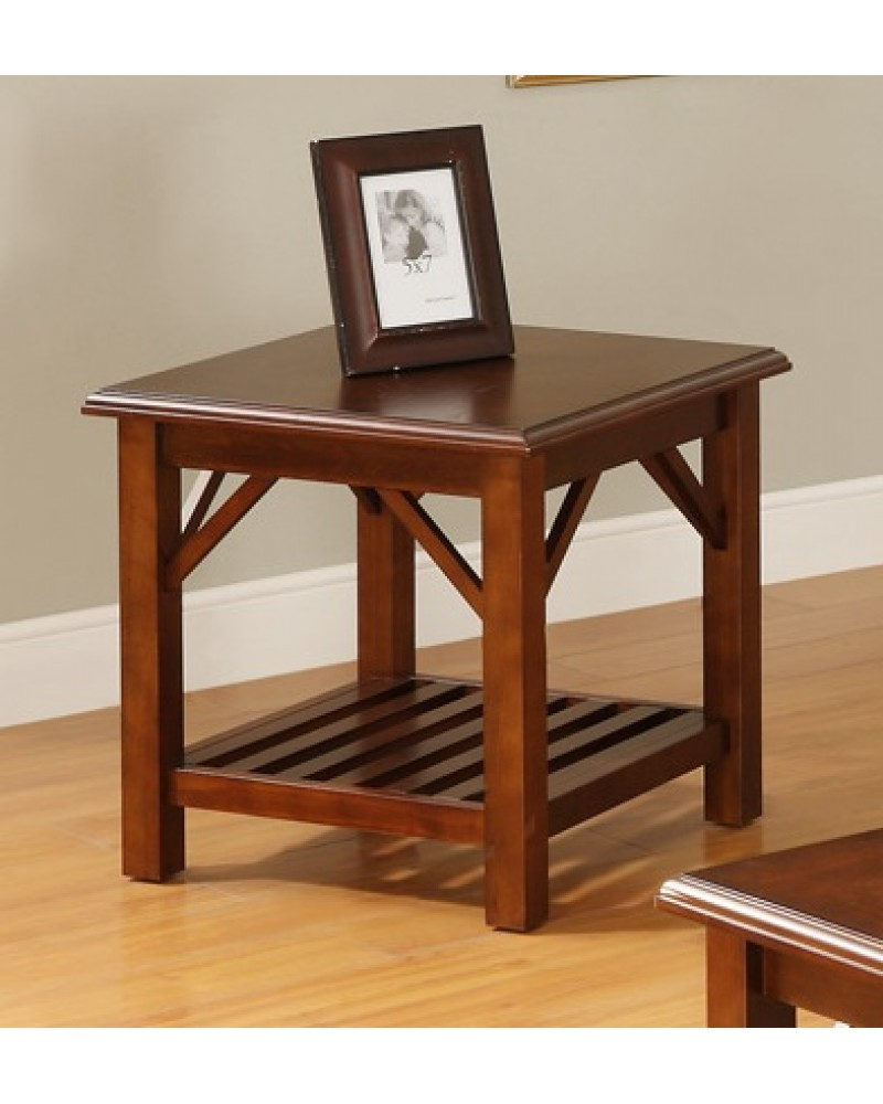 Cherry Coffee Table and End Table End Table