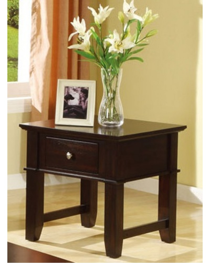 Coffee Table Set, Mission Style, Espresso End Table