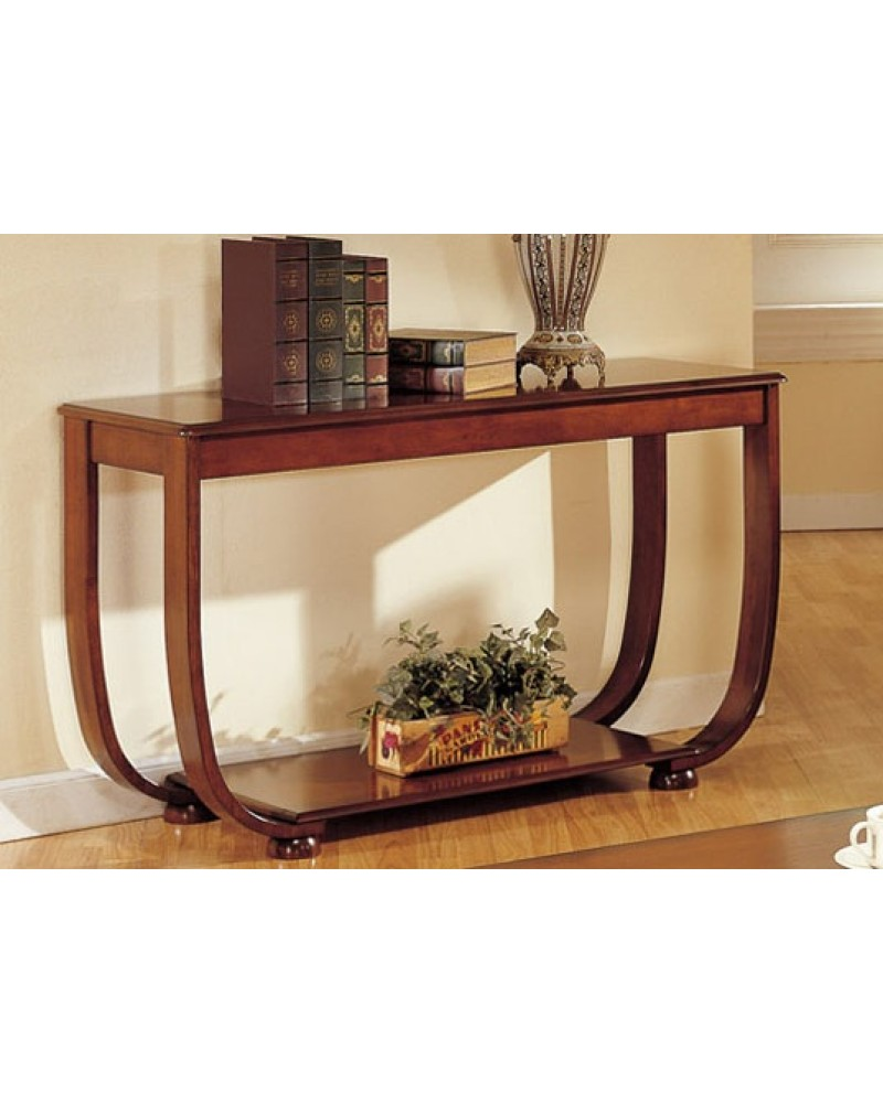 Coffee Table, Curved Legs, Matching End Table and Console Console Table