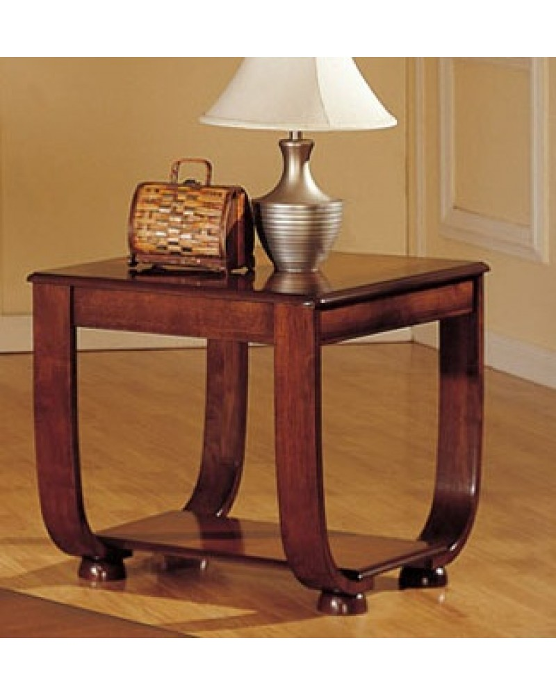 Coffee Table, Curved Legs, Matching End Table and Console End Table