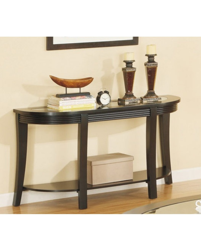 Oval Coffee Table Set Matching Console
