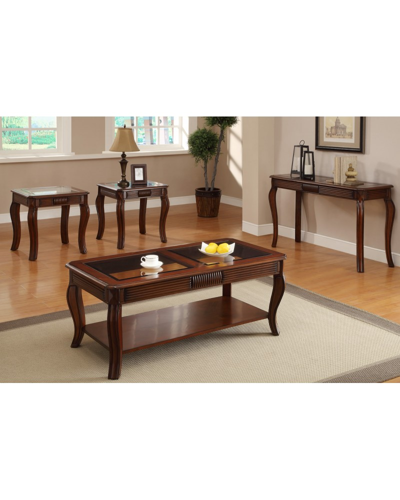 Coffee Table and End Tables 3-Piece Coffee Table Set