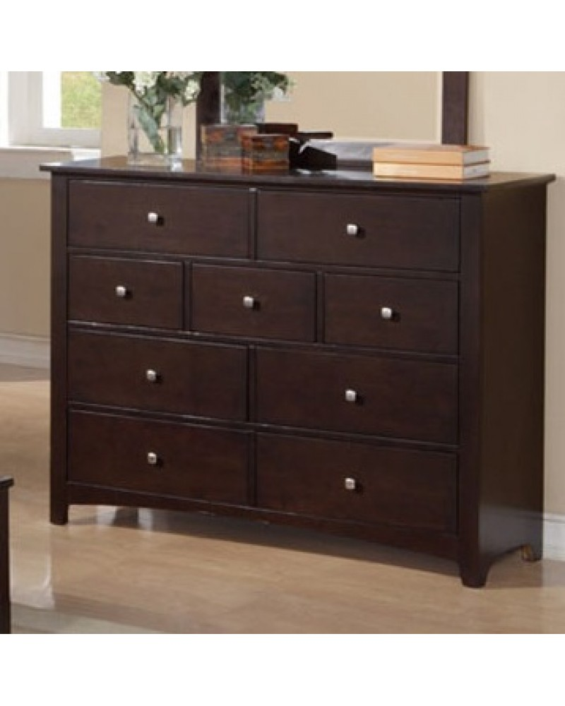 F4575 Dark Walnut Dresser
