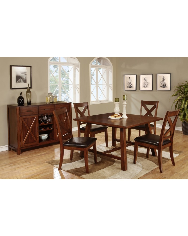 Mission Style Dining Table Set