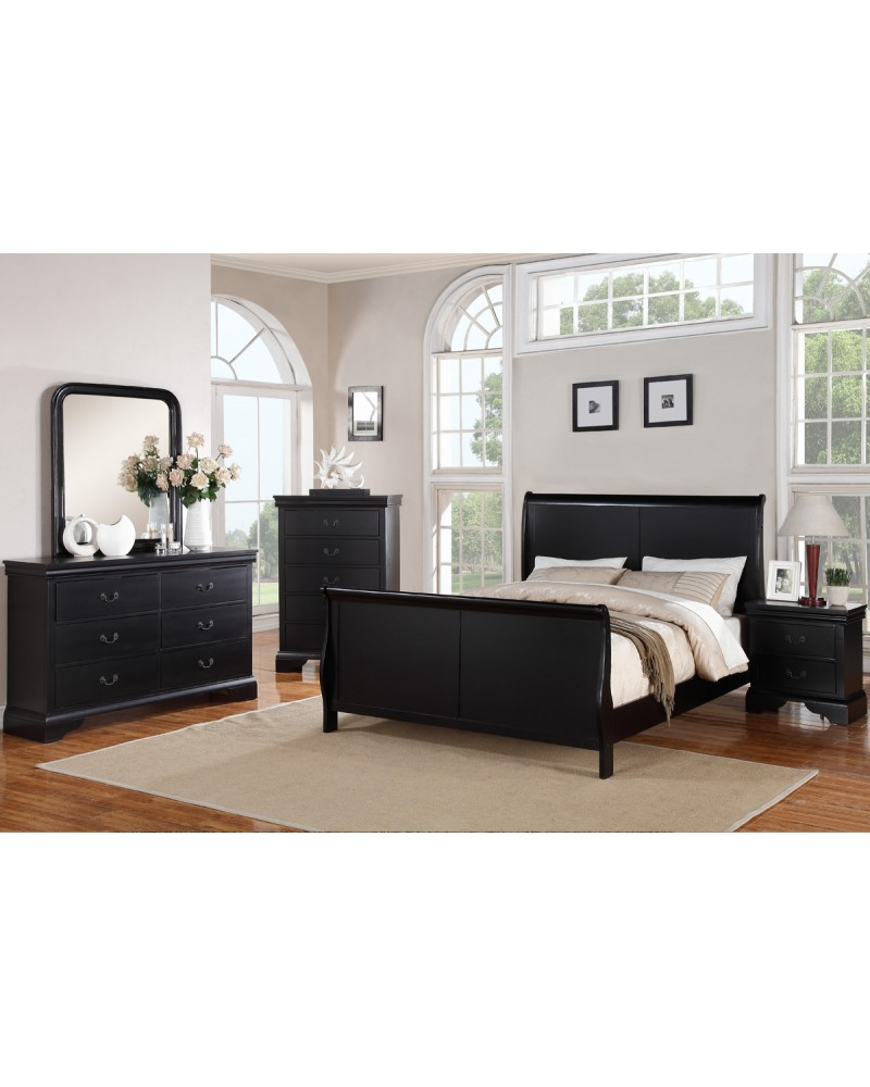 F9230CK Cal King Sleigh Bed