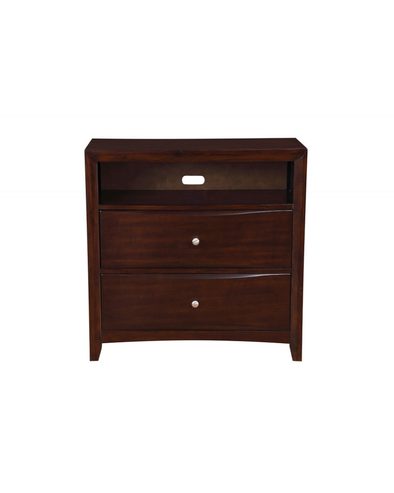 TV Chest with two drawers by Poundex - F4560
