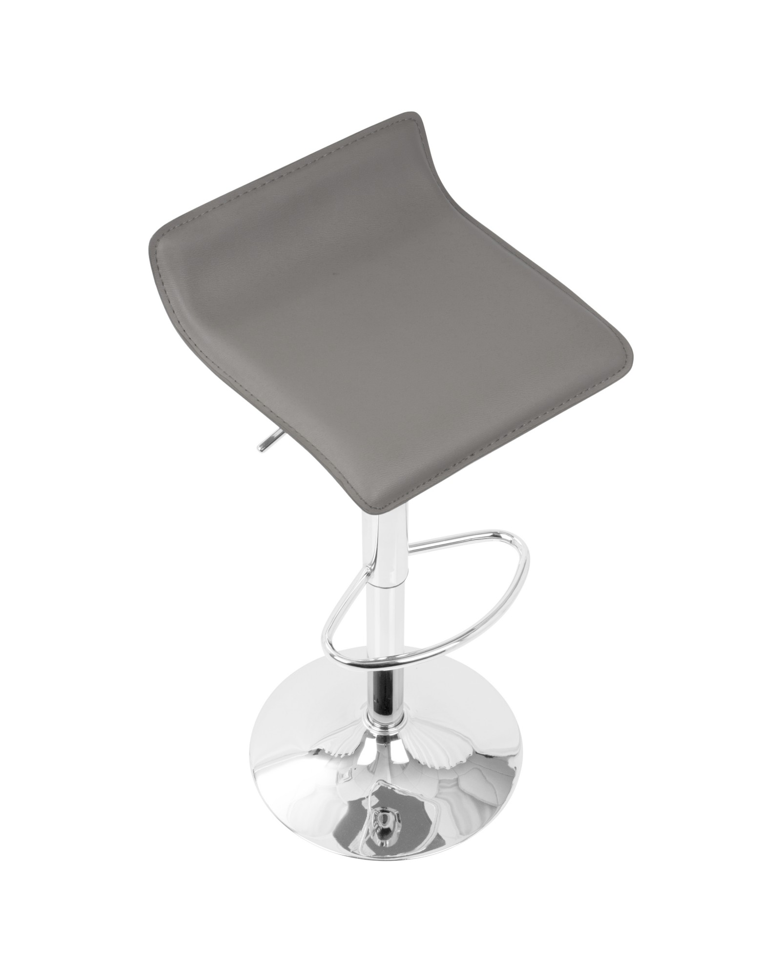 Amazing Ale Barstool Ale Contemporary Adjustable Barstool In Grey Alphanode Cool Chair Designs And Ideas Alphanodeonline