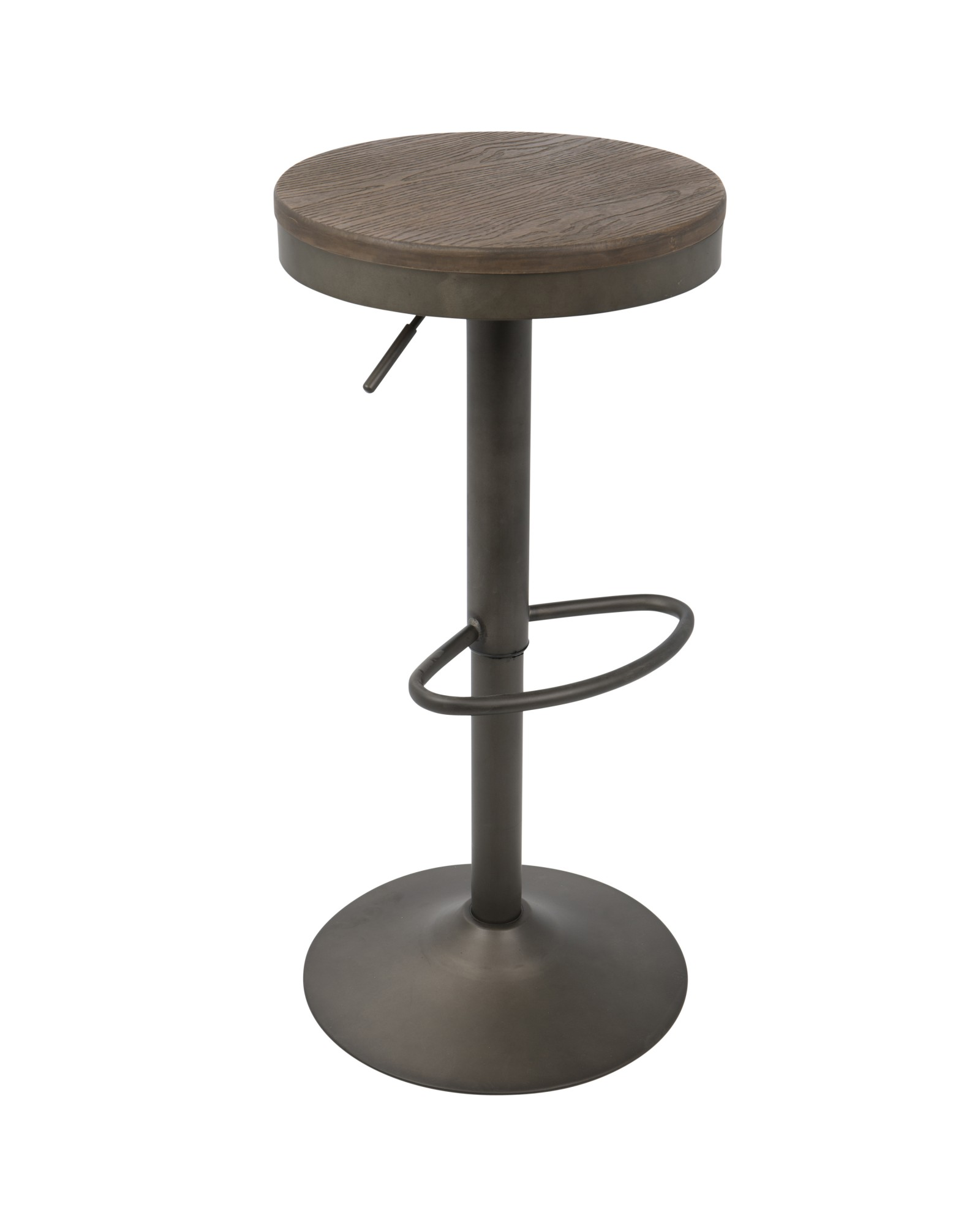 Awesome Dakota Barstool Dakota Industrial Adjustable Barstool In Pabps2019 Chair Design Images Pabps2019Com