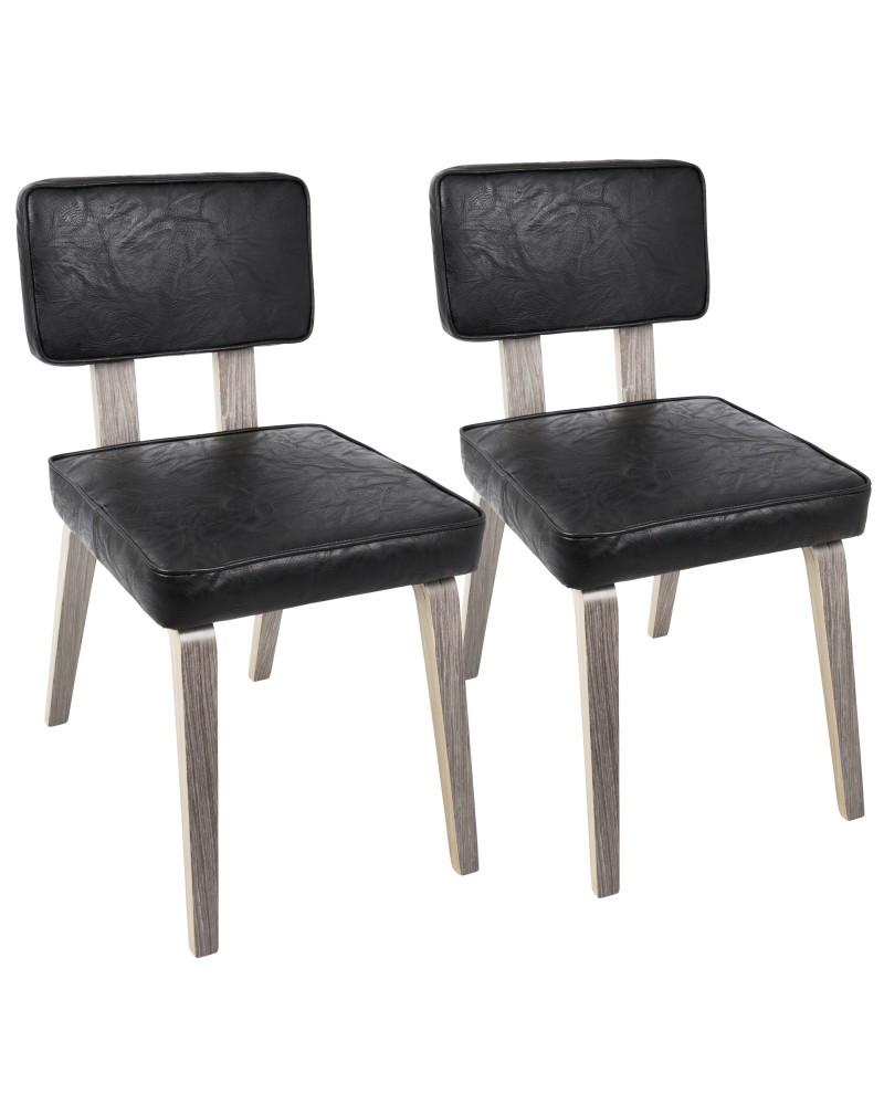 Amazing Nunzio Dining Chair Nunzio Mid Century Modern Dining Chair Creativecarmelina Interior Chair Design Creativecarmelinacom