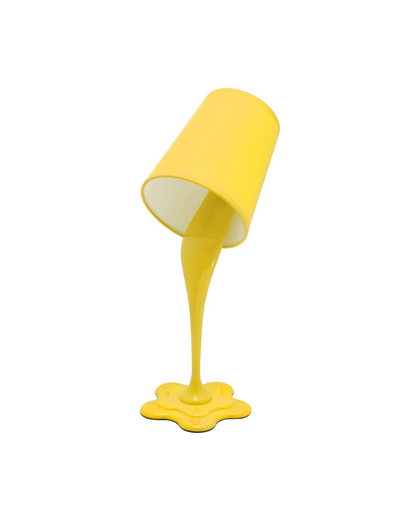 Woopsy Modern Table Lamp in Yellow