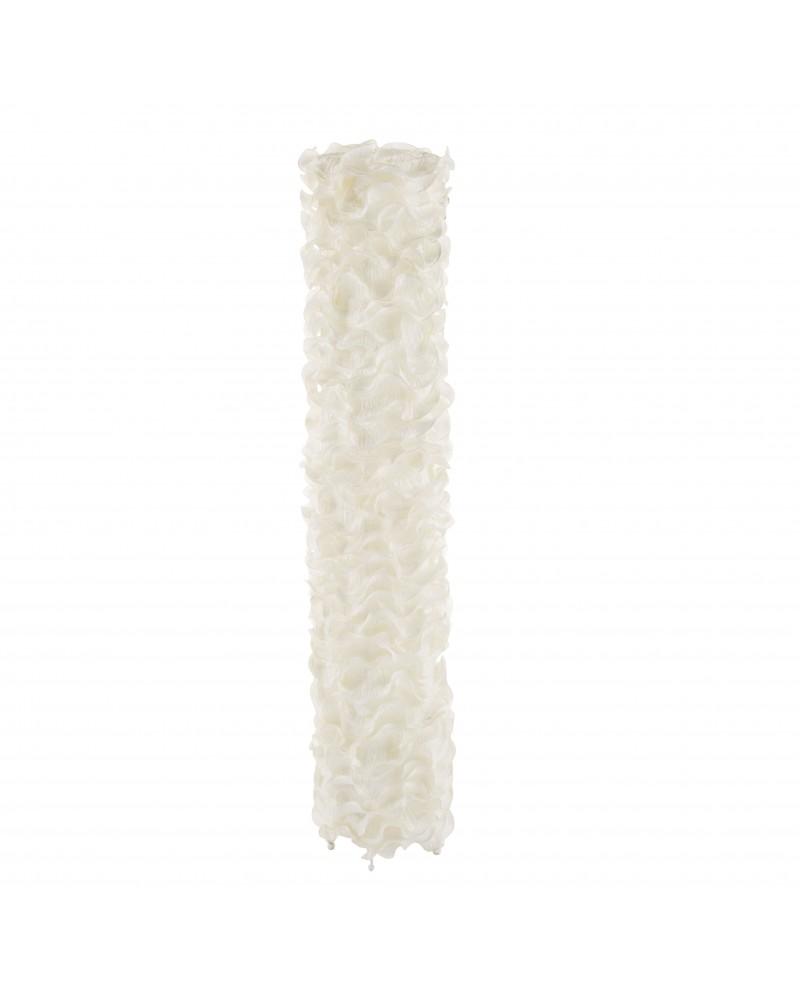Lace Contemporary Floor Lamp in Cream