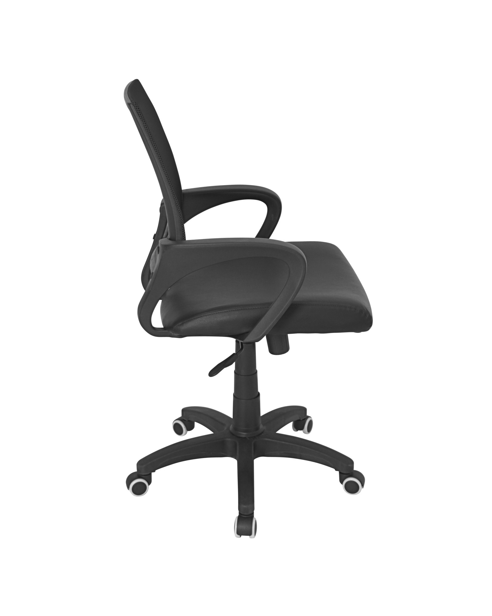 Officer Modern Adjustable Office Chair with Swivel in Black