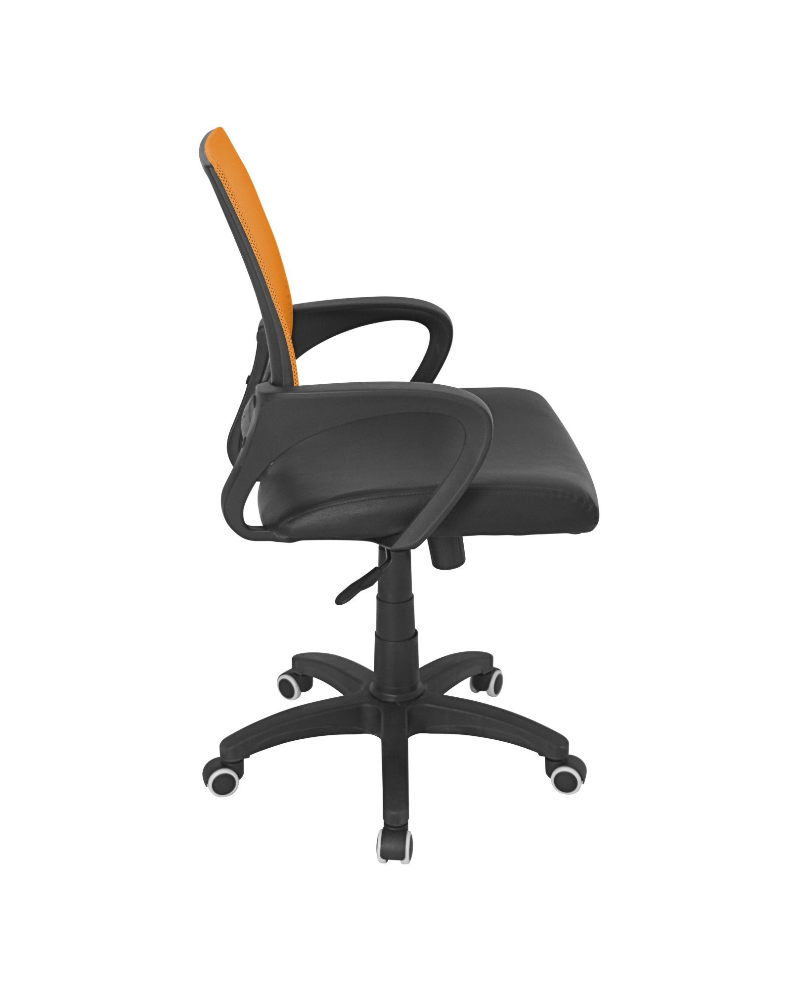 Officer Modern Adjustable Office Chair with Swivel in Orange
